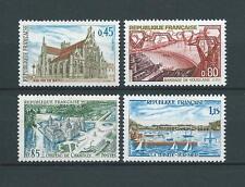 SÉRIE TOURISTIQUE - 1969 YT 1582 à 1585 - TIMBRES NEUFS** LUXE