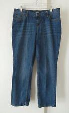 womens blue J JILL jeans straight 100% cotton denim casual petite large 12P