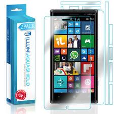 2x iLLumi AquaShield HD Front Screen + Back Panel Protector for Nokia Lumia 830