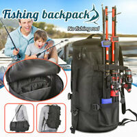 23L Fishing Backpack Lure Fishing Rod Bag Shoulder Bag Multifunctional Travel
