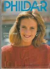 Catalogue tricot Phildar Mailles N°150H 1987 Homme & Femme