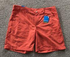 Mens Columbia Modern Classic Shorts Orange Size 42 NWT