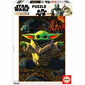 Star Wars The Mandalorian Baby Yoda 1000 piece jigsaw puzzle 680mm x 480mm (pl)