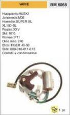 CONTATTI + CONDENSATORE PUNTINE MOTOSEGA HOMELITE super xl 150 sl SKI 1610