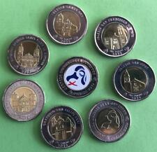 Panama coins new issue 1 balboa 2018 - 2019 *8  coins * JMJ*