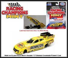 New Racing Champion 1/64th Die Cast Car Matt Hagan '17 Dodge Charger Funny Car