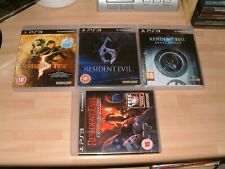 RESIDENT EVIL 5 GOLD + 6 + REVELATIONS + OPERATION RACCOON CITY .....  PS3 GAMES