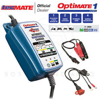 MANTENITORE DI CARICA BATTERIE PIOMBO ACIDO LITIO OPTIMATE 1 DUO 12V 0,6A MOTO