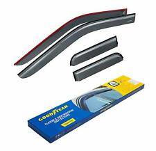 Goodyear Shatterproof Side Window Deflectors for Trucks Ford F-150 2015-2019 Sup