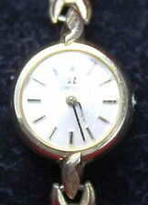 Omega 14k Gold Filled 17 Jewels Ladies Watch - 17j - Wristwatch - Parts/Repair