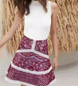 Alexis WOMAN lace Mini Skirt