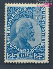 Liechtenstein 3x with hinge 1912 Postage stamp (8496602