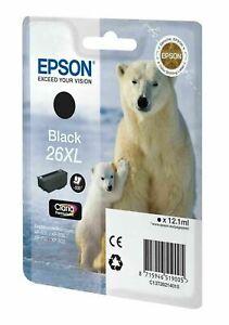 Genuine Epson 26XL Black | Cyan | Yellow | Magenta inkjets *CHOOSE COLOUR*