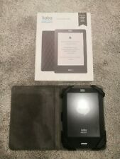 Kobo touch e-reader bundle, black with black M-Edge case, boxed & good condition