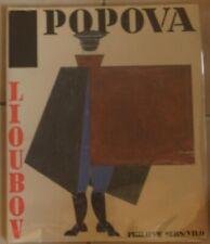 Lioubov Popova  Monographie de N Adaskina et D Sarabianov Vilo 1989
