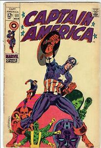 Captain America 111 - Steranko art -1969