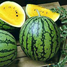 Seeds Watermelon Yellow Janusik Vegatable Fruit Rare NON-GMO Organic Heirloom