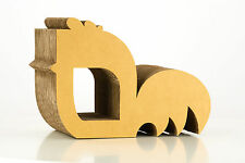 9lifers- Rooster- Kratzmöbel aus Pappe 40 x 20 x 27.5 cm