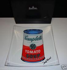 Rosenthal Warhol Campbell's weiß/rot Schale 25 cm quadr. Neu & Ovp 1.Wahl