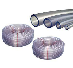 PVC Schlauch Benzinschlauch Luftschlauch METERWARE versch.Größen Preis pro Meter