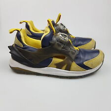 Men's PUMA 'Disk Swift Tech' Sz 9 US Shoes Yellow As New   3+ Extra 10% Off