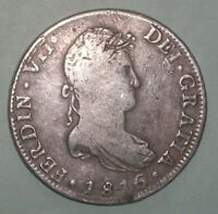 1816 Spanish colony Mexico 8 Reals