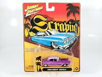 "Johnny Lightning ""Scrapin"" 1958 Chevy Impala Low Rider - Purple - 1/64 - NEW NOC"