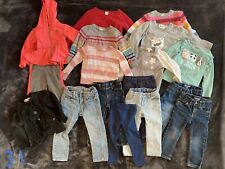 Toddler Girl Size 2T Clothing Lot, Gap, Cat & Jack, Assorted Brands