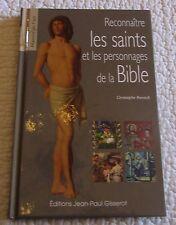 Livre Reconnaître les Saints et les personnages de la Bible