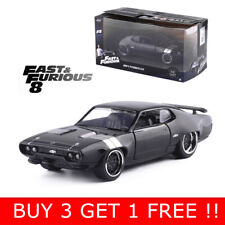 JADA 1:32 FAST & FURIOUS DOM'S PLYMOUTH GTX DIECAST MODEL CAR COLLECTION VEHICLE
