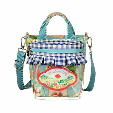 Oilily Tasche Picnic Jelly Jar Handbag Sky Blue Schultertasche Umhängetasche