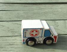 Wooden Toy Ambulance Brio/elc Thomas The Tank