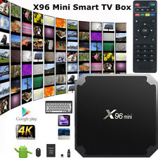 X96 Android 7.1 Mini TV Box Quad Core Smart Media Player WIFI 4K 17.3 HDMI