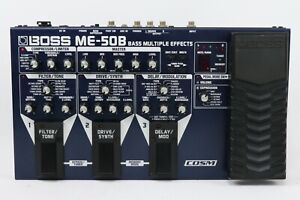 BOSS ME-50B 50 B BASS GUITAR MULTI EFFECTS PEDAL[Exc++] From Japan