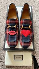 Authentic Gucci Jordaan Tartan Horsebit Mens Loafer US10.5 EU44 UK10 RRP $805