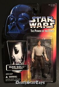 Star Wars POTF2 Han Solo In Carbonite Block Chamber Variant ESB Boba Fett ROTJ