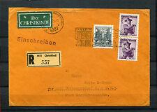 Österreich - Christkindl R-Brief 1968 in die DDR    (#517)
