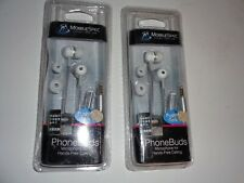 2 Pack Mobile Spec Phone Buds Hands Free Calling Ear Buds