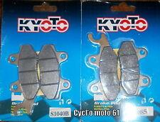 Plaquettes de frein avant D et G Yamaha YFM 700R Raptor 2006 à 2011 S1040B/S1085