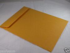 "10 Manila 9 x 12 Kraft Catalog Mailing Envelopes Brown Self Seal Mailers  9""x12"""
