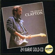 Clapton, Eric The Cream of Clapton - Best Of Zounds 24 Karat Gold CD Superrar