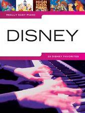 Really Easy Piano Disney Sheet Music Really Book NEW 000311916