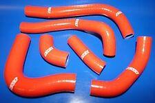 Durites Honda silicone CRF450R de 2002 à 2004 Styx rouge