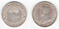 BRITISH WEST AFRICA - SILVER 1 SHILLING COIN 1914 YEAR KM#12 GEORGE V
