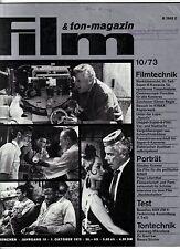 """Film & Ton-Magazin 10/73 PETER LILIENTHAL Stanley Kramer """"Nachtschatten"""" Wertow"""