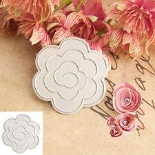 3D Flower Metal Cutting Dies Stencils DIY Paper Cards Scrapbook Festival Hot