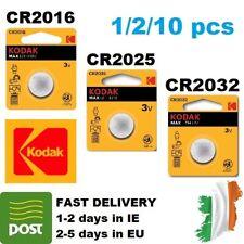 CR2032 CR2025 CR2016 3V Lithium Battery Coin Button Cell 2/5/10pcs