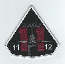 "PILOT TRAINING CLASS 11-11/12 ""WOBBLY"" patch"
