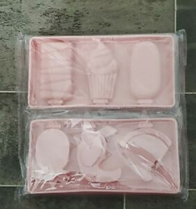 Cakesicle Molds Silicone Popsicle Molds Set with Lids, Upgraded 2 Pack Large Ice