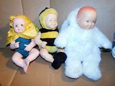 Job Lot of 3 Anne Geddes Dolls
